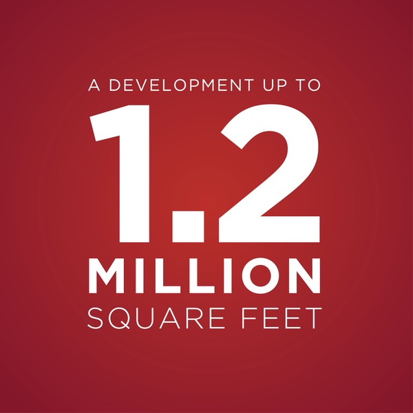 1.2 Million square feet